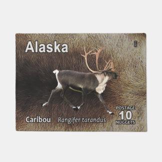 Caribou (Reindeer) - Alaska Postage Doormat