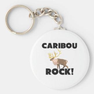 Caribou Rock Key Ring