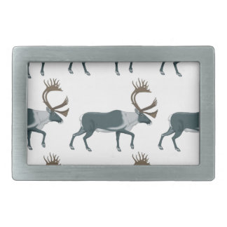 Caribou rows belt buckles