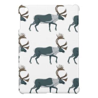 Caribou rows iPad mini cases