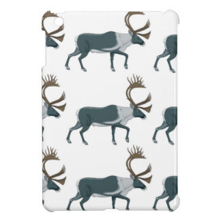 Caribou rows iPad mini cover