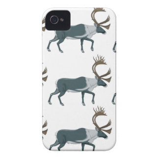 Caribou rows iPhone 4 case