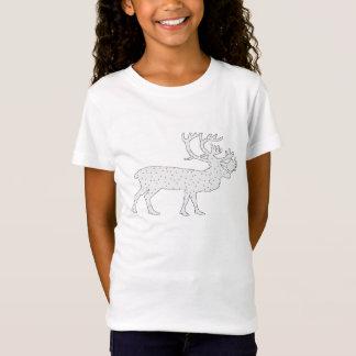 Caribou Winter Art T-Shirt
