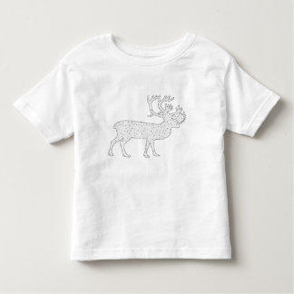 Caribou Winter Art Toddler T-Shirt