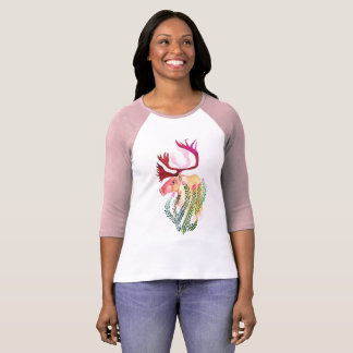 Caribou with Fireweed T-Shirt
