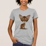 Caricature Abyssinian T-shirt