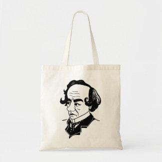 Caricature Benjamin Disraeli Tote Bag