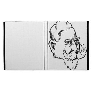 Caricature Kaiser Wilhelm iPad Case