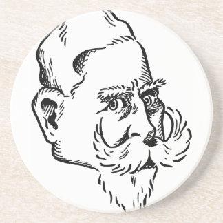 Caricature Kaiser Wilhelm Coaster
