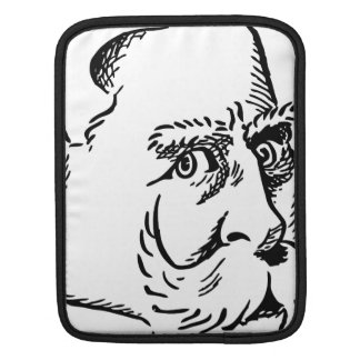 Caricature Kaiser Wilhelm Sleeves For iPads
