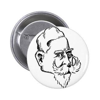 Caricature Kaiser Wilhelm Pin