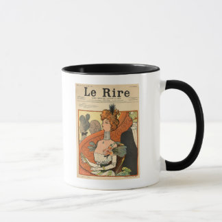 Caricature of a French Marquise Mug