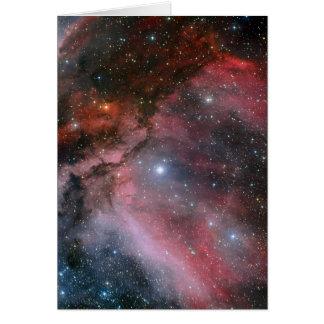 Carina Nebula around the Wolf Rayet star WR 22 Card