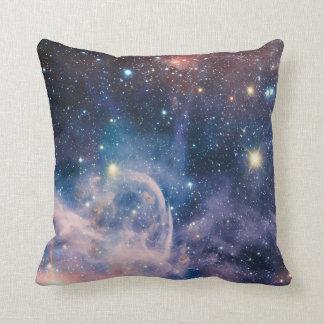 Carina Nebula Carl Sagan Quote Throw Pillow 2 of 2