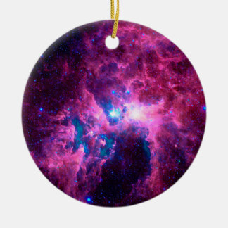 Carina Nebula Ceramic Ornament