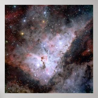 Carina Nebula Composite 40x40 (28x28) Poster
