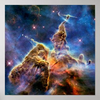 Carina Nebula Detail Print