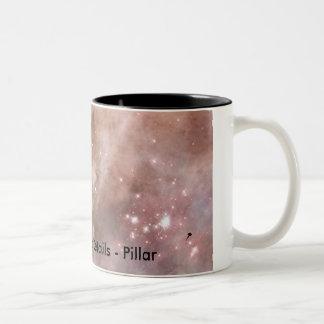 Carina Nebula Details - Pillar Two-Tone Mug