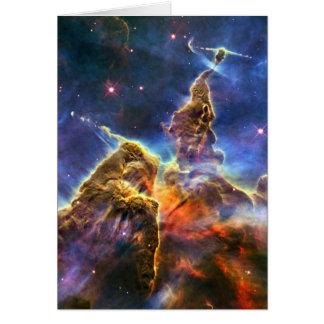 Carina Nebula (Hubble Telescope) Cards