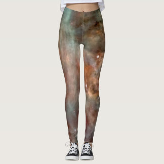 Carina Nebula Marble Look NASA Leggings