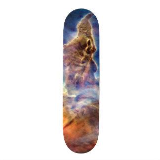 Carina Nebula Mystic Mountain Detail Custom Skate Board