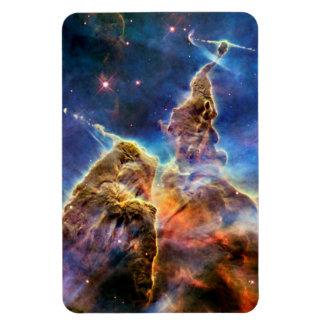 Carina Nebula Mystic Mountain Detail Rectangular Photo Magnet