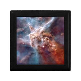 Carina nebula small square gift box