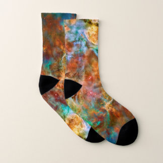 Carina Nebula space picture Socks