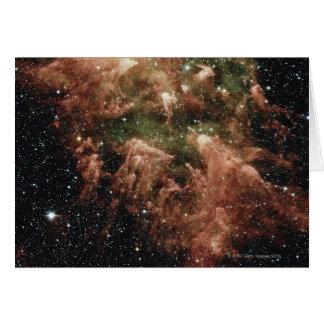 Carina Nebula Star Card