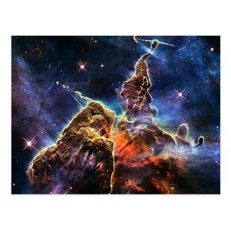 Carina Nebulae in space NASA Postcard