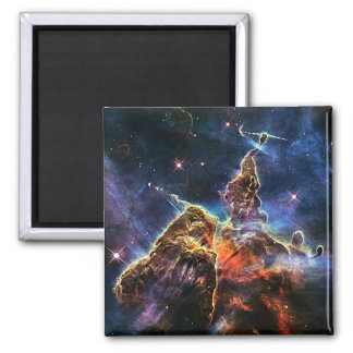 Carina nebulae in space NASA Square Magnet