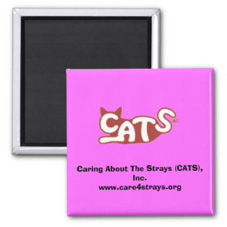 Caring About The Strays (CATS), Inc. Magnet