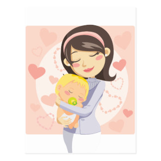 Caring Mother Postcard