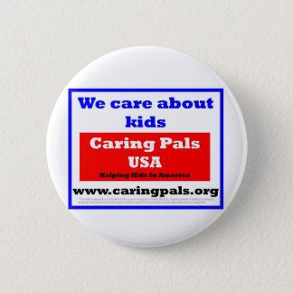 Caring Pals USA Button