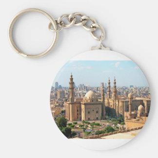 Cario Egypt Skyline Key Ring