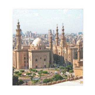 Cario Egypt Skyline Notepad