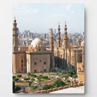 Cario Egypt Skyline Plaque