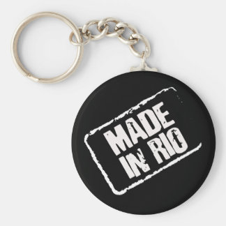 CARIOCA MADE IN RIO STAMP KEY RING