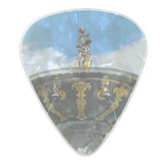 Caritas Well Copenhagen Denmark Pearl Celluloid Guitar Pick