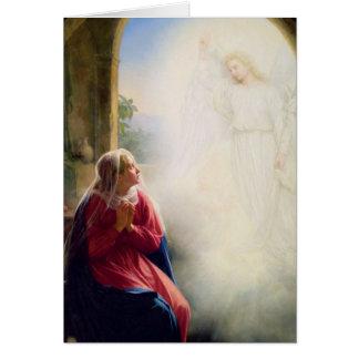 Carl Bloch Annunciation Card