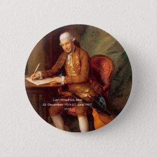 Carl Friedrich Abel 6 Cm Round Badge