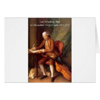 Carl Friedrich Abel Card