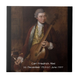 Carl Friedrich Abel Ceramic Tile