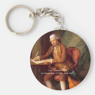 Carl Friedrich Abel Key Ring
