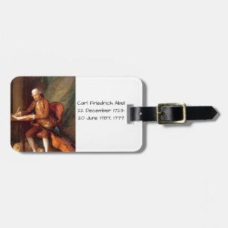 Carl Friedrich Abel Luggage Tag