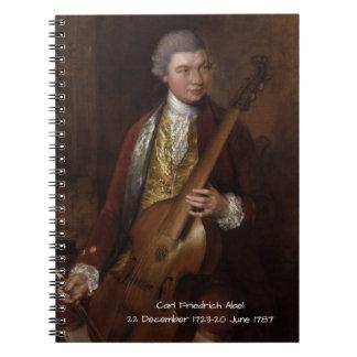 Carl Friedrich Abel Notebooks
