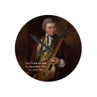 Carl Friedrich Abel Round Clock