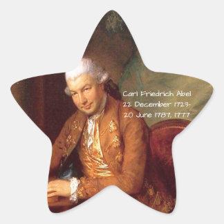 Carl Friedrich Abel Star Sticker