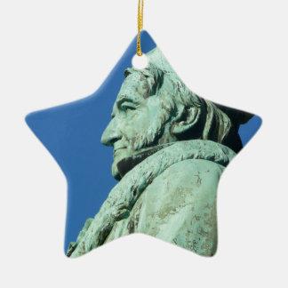 Carl Friedrich Gauß (Gauss), Braunschweig Ceramic Ornament