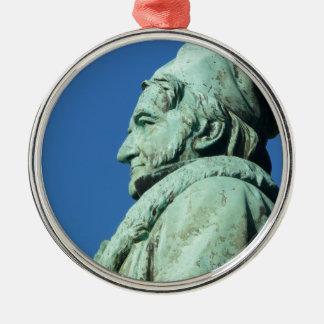 Carl Friedrich Gauß (Gauss), Braunschweig Metal Ornament